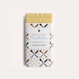 Chocolat blanc à pâtisser